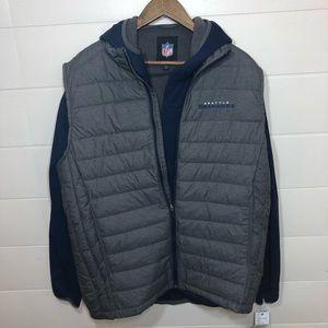 NWT Seattle Seahawks NFL Vest & Jacket